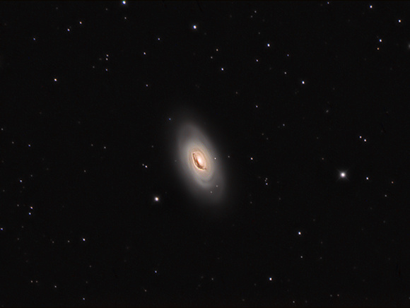 M64 the Blackeye galaxy
