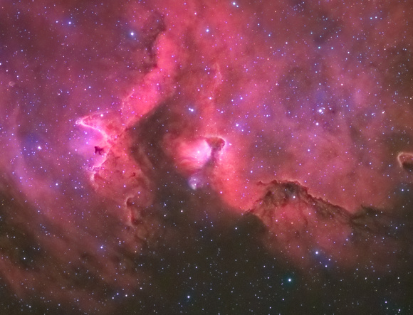 IC 1871 the Soul nebula