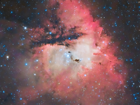NGC 281 the Pac Man nebula