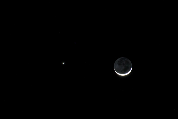 Venus, Mars and Lunar conjunction
