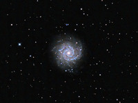 M74 a Galaxy in Pices