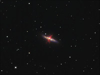 M82 the Cigar galaxy